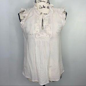 Ann Taylor Loft women's sleeveless blouse